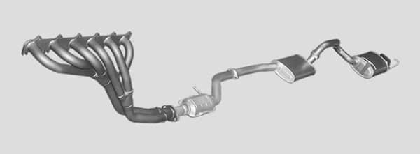 Вихлопна система – будова та принцип роботи